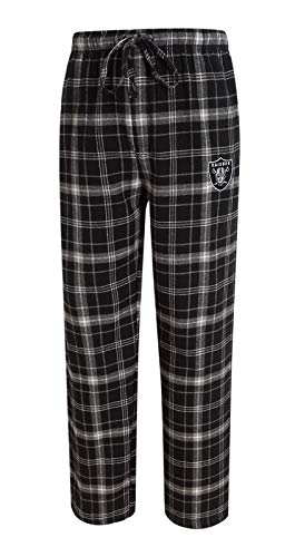 - Concepts Sport Oakland Raiders NFL Ultimate Goal Men's Flannel Pajama Pants