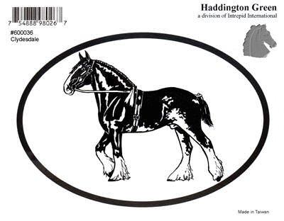 Clydesdale Sticker - 7