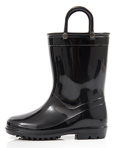 Outee Kids Toddler Boys Girls Rain Boots Waterproof