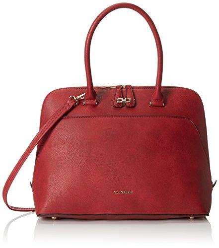 Otto Kern Damentasche Lucca 8 Damen Henkeltaschen 38130116 cm (B x H x T), Rot (Rot rot)