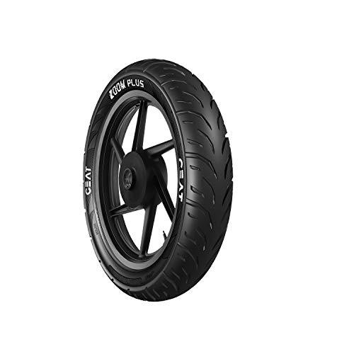 Ceat Zoom Plus 80/100 18 54P Tubeless Bike Tyre, Rear