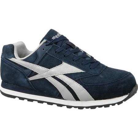 Athletic Shoes, Steel Toe, Navy, 10, PR ()