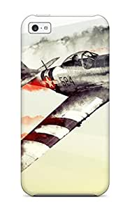 Hot Design Premium TfbrDrk5574rLfrB Tpu Case Cover Iphone 5c Protection Case(war Thunder) by icecream design