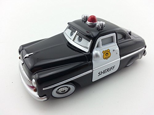 [Mattel Disney Pixar Cars Sheriff Toy Car 1:55 Loose New In Stock] (Max Fisher Costume)
