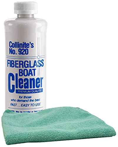 collinite-920-fiberglass-boat-cleaner-16-oz-microfiber-cloth-kit