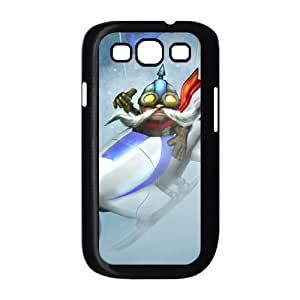 Samsung Galaxy S3 9300 Cell Phone Case Black League of Legends Ice Toboggan Corki Lfzig