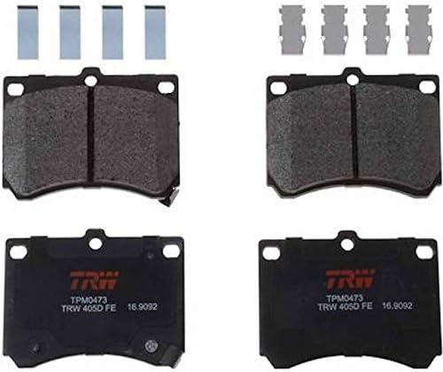 TRW TPM0473 Premium Front Disc Brake Pad Set