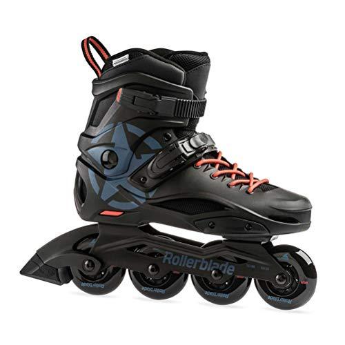 Rollerblade Cruiser Adult Fitness Inline Skate, Black/Grey Blue, Size 9 ()