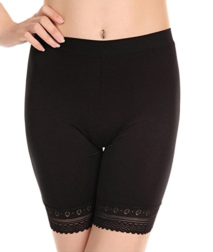 Womens Comfortable Elastic Boyshort Legging