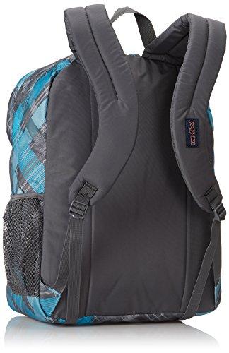 012f0d53b5c JanSport Big Student Backpack - Mammoth Blue Sideways Plaid / 17.5