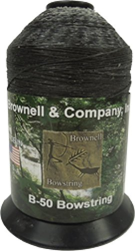 Brownell B-50 Dacron Black 1 Lb Spool