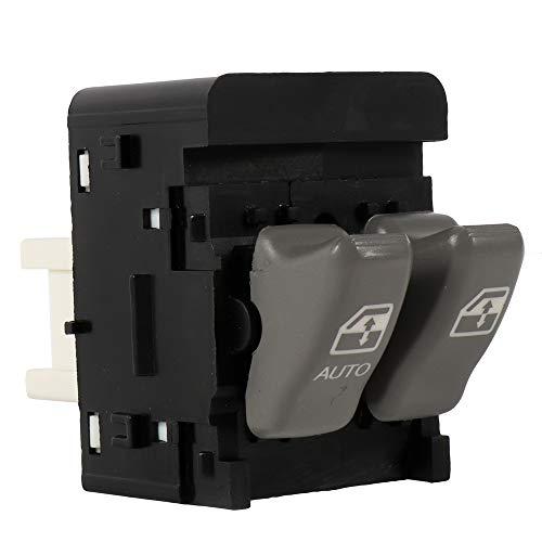 witch Driver Side Power Window Master Control Switch fits for 2000-2005 Pontiac Montana 1997-2000 Pontiac Trans Sport Replace 10387304 89047311 19244655 901-080 ()