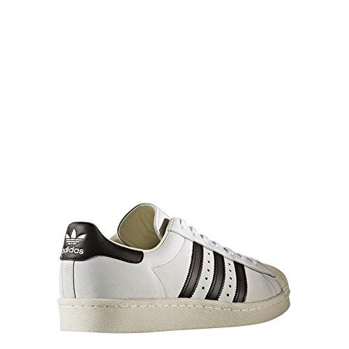 adidas Schuhe – Superstar weiß/schwarz/golden Größe: 40