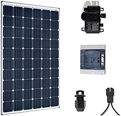 Kit Solar 300 W autoconsommation – Plug & Play: Amazon.es: Iluminación