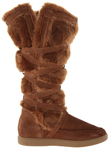 Women's Lorrian Dark Report Boot Snow Tan Signature Bvxw4q8