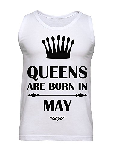 Queens Are Born In May Men's Tank Top