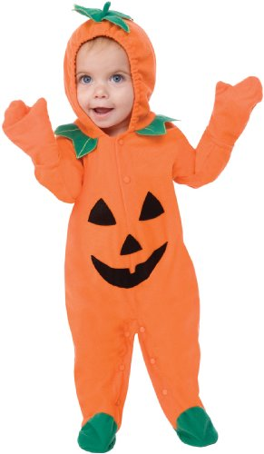 This Guy Costumes Baby's Lil Pumpkin, Orange, 12-18 Months (Guys Being Girls For Halloween)