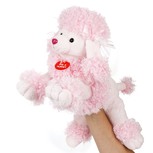 Aurora World – Fancy the Pink Poodle Body Puppet – Made From Soft and Huggable Plush – (Fancy Poodle)