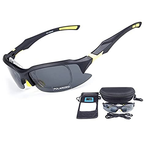 Wonzone Polarized UV Protection Sunglasses for Men Women Sports Glasses Cool Goggles for Bicycling, Fishing, Golf, Driving, Skiing and All Outdoor Activities (Scratch Golf Game Gear)