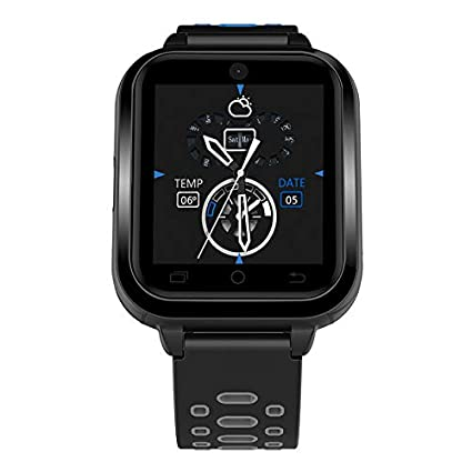 Finow Q1 Pro Android Smart Watch 4G 1.54 Inch Touch Screen Pedometer Grey: Amazon.es: Relojes