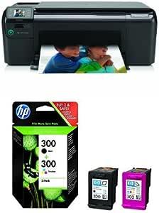 HP Photosmart C4780 AiO Pack - Impresora multifunción + Pack de ...
