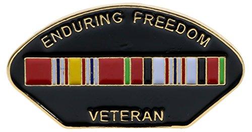 Sujak Military Items Enduring Freedom Veteran Afghanistan War Hat or Lapel Pin HON14574