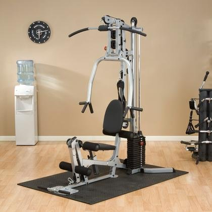 BSG10X Powerline Home Gym with Compact Footprint and Chest Harness