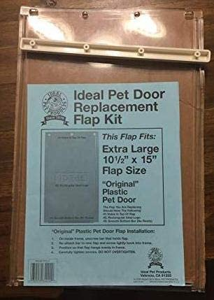 IDEAL PET Door Replacement Flap for Plastic Frame Door – Old Style, X-Large
