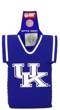 KENTUCKY WILDCATS BOTTLE JERSEY KOOZIE COOLER