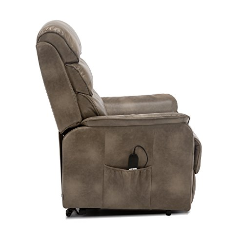 Super More4Homes Buckingham Dual Motor Electric Rise Recliner Creativecarmelina Interior Chair Design Creativecarmelinacom