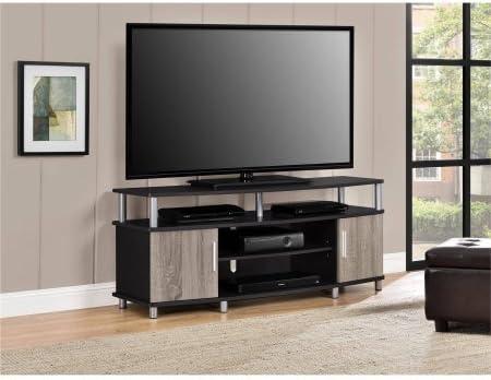 Soporte de TV, para televisores de hasta 127 cm, múltiples acabados, muebles para el hogar, centro de entretenimiento, diseño contemporáneo, espacio abierto y cerrado, muebles de salón, libro electrónico BONUS: Amazon.es: Juguetes