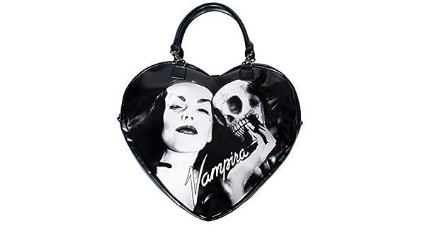 6896731c85fb Kreepsville 666 VAMPIRA BLACK HEART PURSE BAG Punk Rock: Handbags ...
