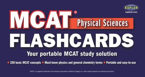 MCAT Physical Sciences Flashcards (Flip-O-Matic)