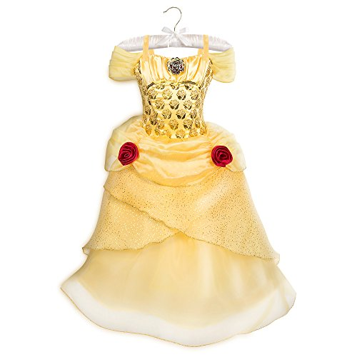 Disney Belle Costume for Kids - Beauty and The Beast Size 5/6 Yellow