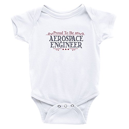 Teeburon Proud To Be A Aerospace Engineer Baby Bodysuit