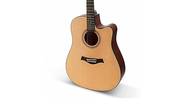 GFEI 105cm _ madera de abeto guitarra balada: Amazon.es: Instrumentos musicales