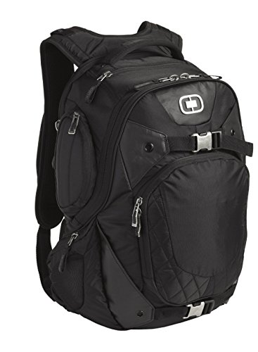 OGIO Squadron Pack Black 17 Laptop Macbook Pro Black Backpack