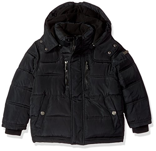 English Laundry Big Boys' Outerwear Jacket (More Styles Available), Bubble/Black, 10/12