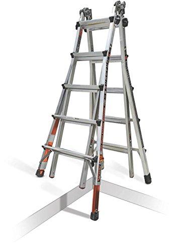 Little Giant Quantum Multi-Use Ladder 300 Pound Rating (Model 22 Ratchet Levelers)