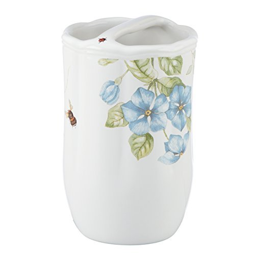 Butterfly Meadow Blue Toothbrush Holder by Lenox