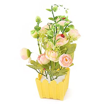 Amazon.com: eDealMax Flores artificiales de Emulational ...