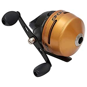 Zebco spin cast fishing reel with 20 pound line for Amazon fishing rods and reels