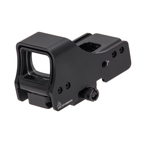 Leapers SCP-RDM39SDQ Inc, Reflex Sight, 3.9″ Red/Green, Single Dot Reticle, black