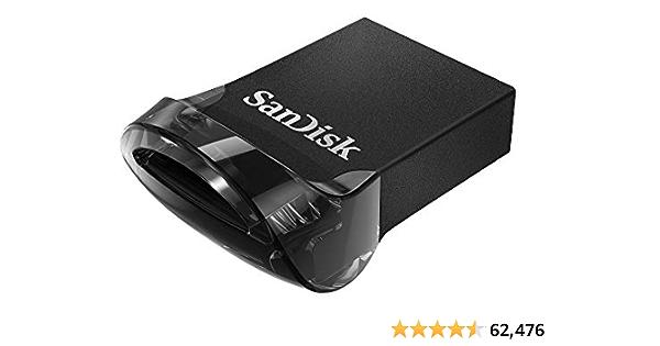 SanDisk 64GB Ultra Fit USB 3.1 Flash Drive - SDCZ430-064G-G46