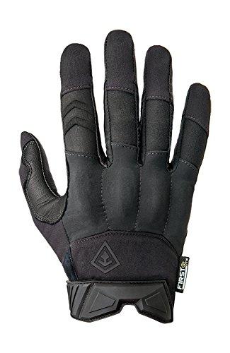 First Tactical Hard Knuckle Gloves, Black, Large