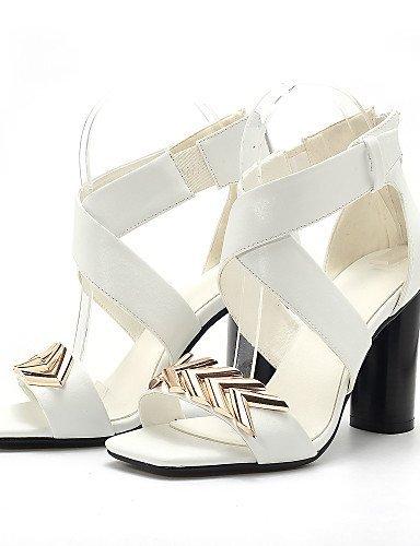 001a915fc0 lfnlyx de zapatos de mujer Chunky talón tacón Peep Toe Gladiator Open Toe  ...