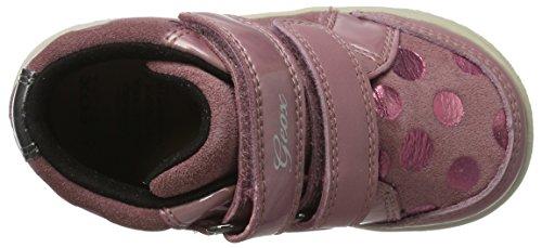 Geox B New Flick F, Zapatillas para Bebés Rosa (Dk Pink)