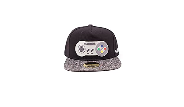 Meroncourt Nintendo Gameboy Rubber Patch Snapback Baseball Cap, One Size, Multi-Colour (Sb097566Ntn), Gorra de…