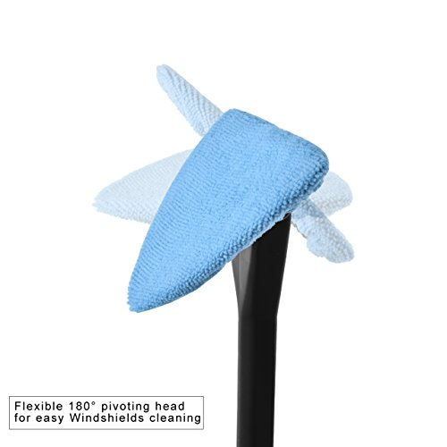 Dedc Car Windshield Cleaner Wipe Tool From Inside Window Glass Cleaning Tool For Home Bedroom