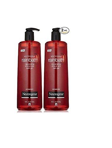 Neutrogena Rainbath Rejuvenating Shower and Bath Gel Pomegranate 16oz (2 Pack)